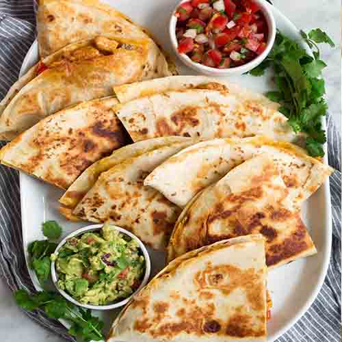 Small Chicken Quesadilla